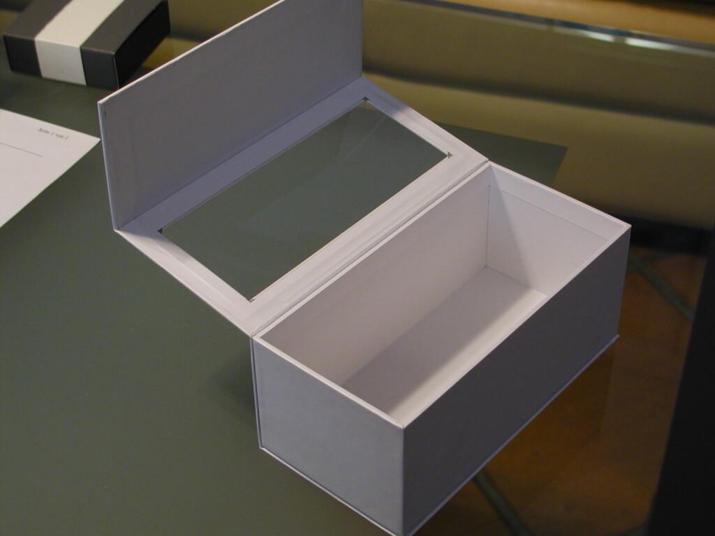 Beispiel individuelle Schachtel