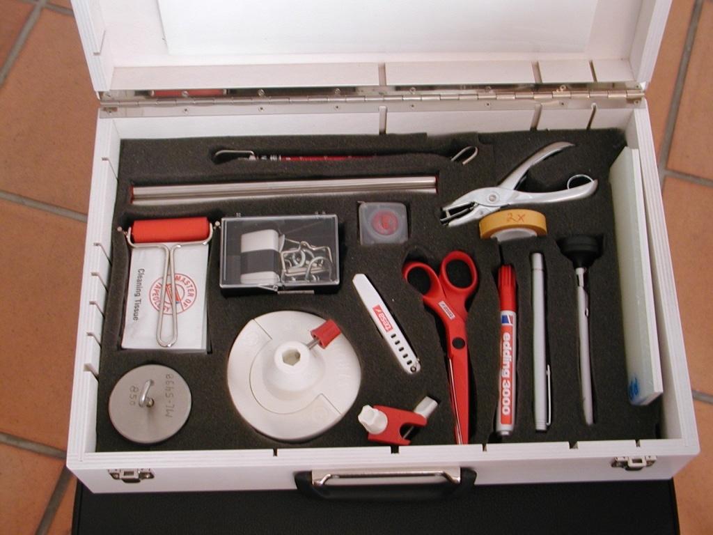 Schaumstoffzuschnitt Werkzeugkoffer