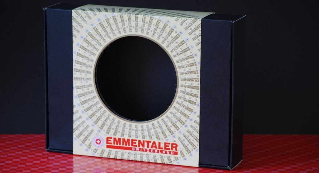 Beispiel offset kaschierte Verpackung - Emmentaler